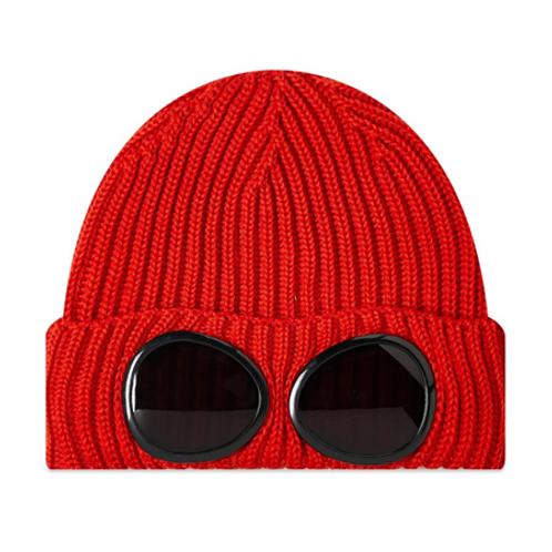 Merino Wool Goggle Beanie 678 ROSIN