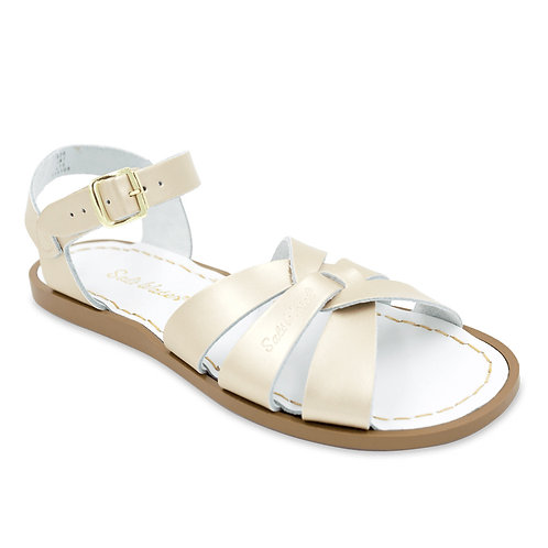 THE ORIGINAL SALT WATER SANDAL -GOLD