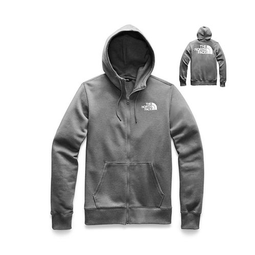 Men's Half Dome Full Zip Hoodie - Medium Grey Heather, White