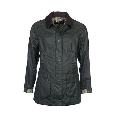 Women's Beadnell Wax Jacket - Sage