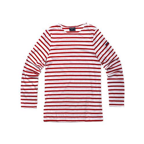 MINQUIERS MODERNE Authentic Breton Stripe Shirt - Neige, Tulipe