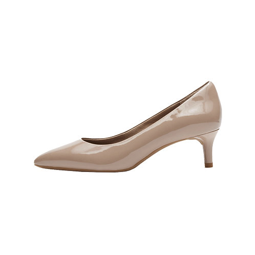 Women's Total Motion Kalila Heel - Dark Taupe Patent