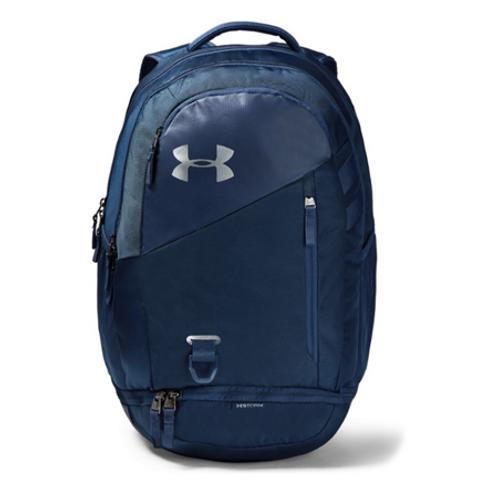 UA Hustle 4.0 Backpack_Academy/Navy