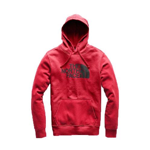 Men's Half Dome Pullover Hoodie - Red, Black