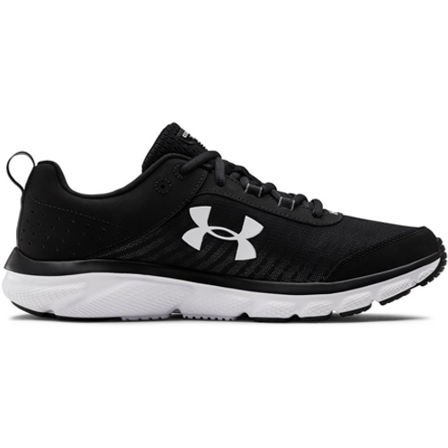 UA Charged Assert 8 Running Shoes BLACK/WHITE
