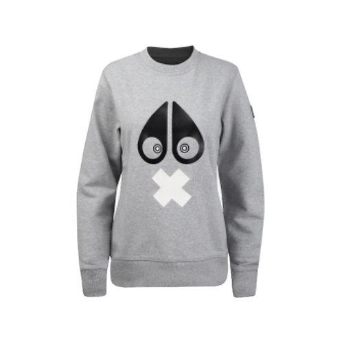 Women's X-Mark Sweatshirt -Charcoal