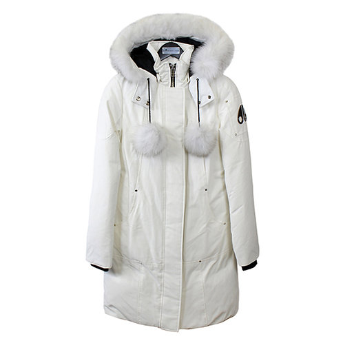 Women's Stirling Parka - Snow, Natural Fox Fur