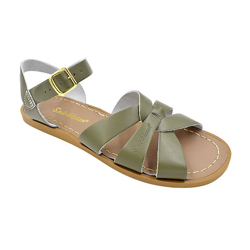 THE ORIGINAL SALT WATER SANDAL -OLIVE