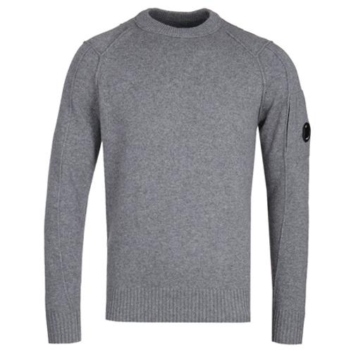 Lambswool Lens Sweater 925 TARMAC GRAY
