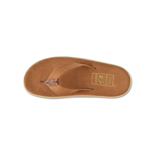 Men's Ultimate Suede Slipper - Peanut, Cognac