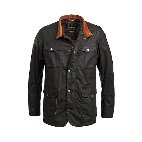 Men's Lightweight Ogston Wax Jacket - Olive