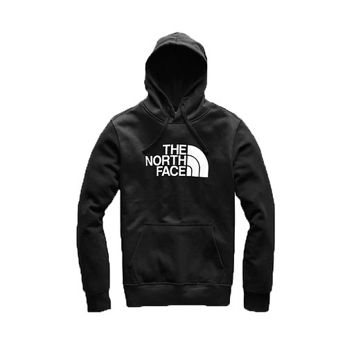 Men's Half Dome Pullover Hoodie - Black, White