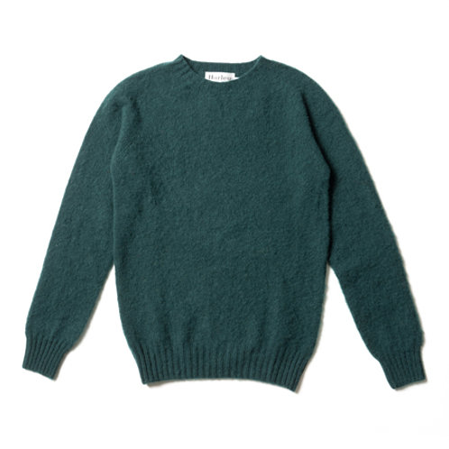 CREW NECK SWEATER M3834/7 Forest sheen 1338