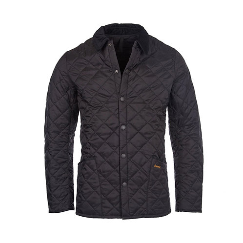 Men's Heritage Liddesdale Quilted Jacket - Black