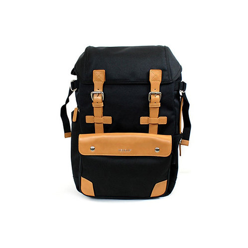 Alpine Rucksack Backpack - Black