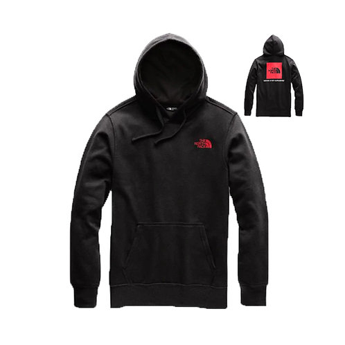 Men's Red Box Pullover Hoodie - Black, Red
