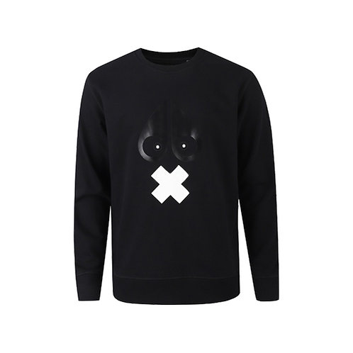 Women's X-Mark Sweatshirt - Black