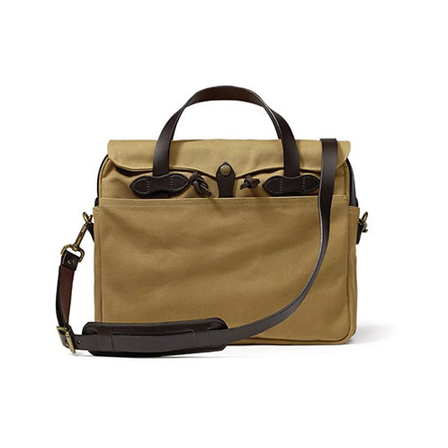 Original Rugged Twill Briefcase - Tan