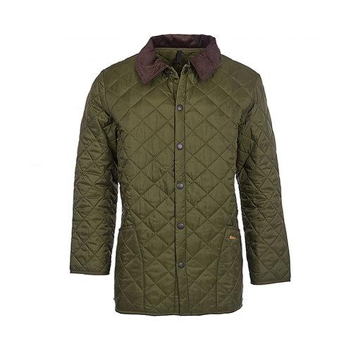 Men's Liddesdale Quilted Jacket - Olive
