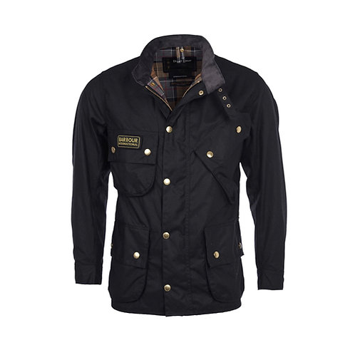 Men's B.INTL Original Waxed Jacket - Black