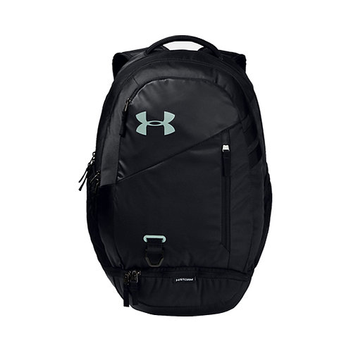 UA Hustle 4.0 Backpack - Black, Atlas Green