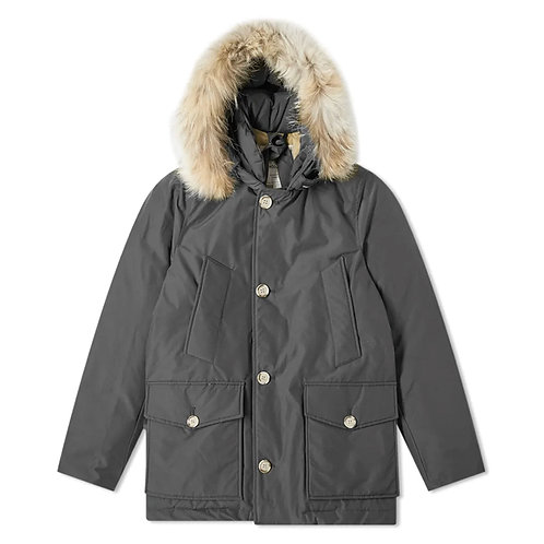 Men's Arctic Parka Detachable Fur - IRON