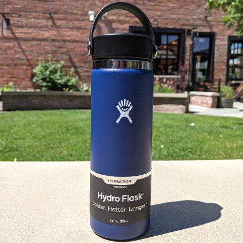 Hydro Flask 20 oz Wide Mouth Cobalt