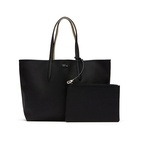 Women's Anna Reversible Bicolour Tote Bag - Black Warm Sand