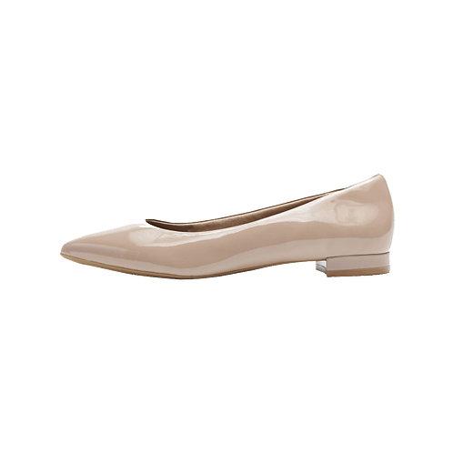 Women's Total Motion Adelyn Ballet - Dark Taupe Patent