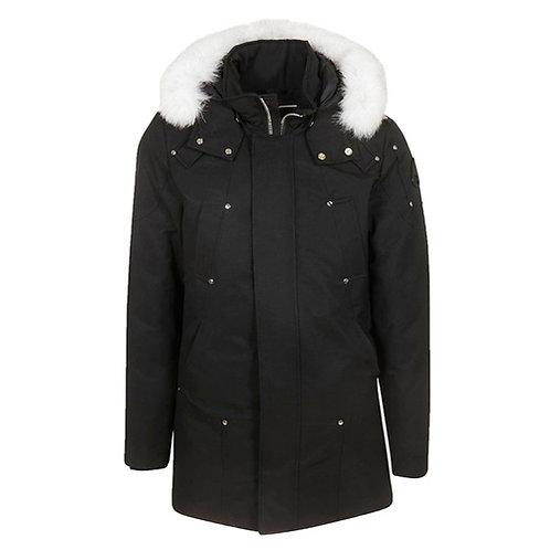 Men's Stirling Parka - Black, Natural Fox Fur