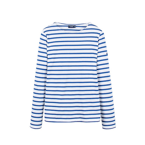MINQUIERS MODERNE Authentic Breton Stripe Shirt - Neige, Gitane