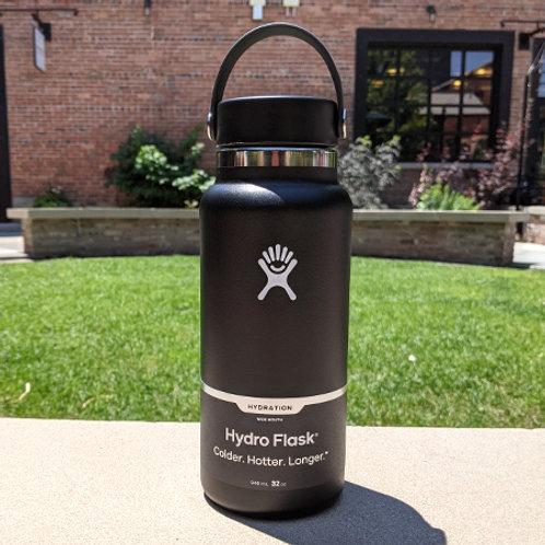 Hydro Flask 32 oz Wide Mouth Black