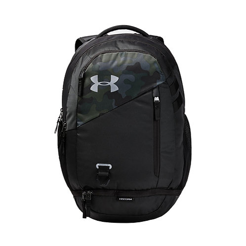 UA Hustle 4.0 Backpack - Desert Sand, Black