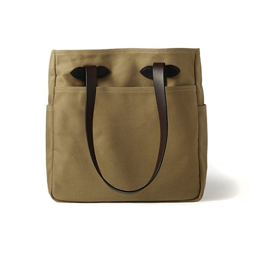 Rugged Twill Tote Bag - Tan