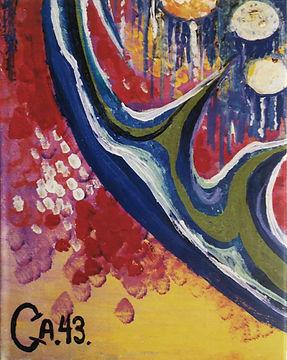 Copertina libro Annette Lorentzen Casalini CA43 'Canvas' (2000)
