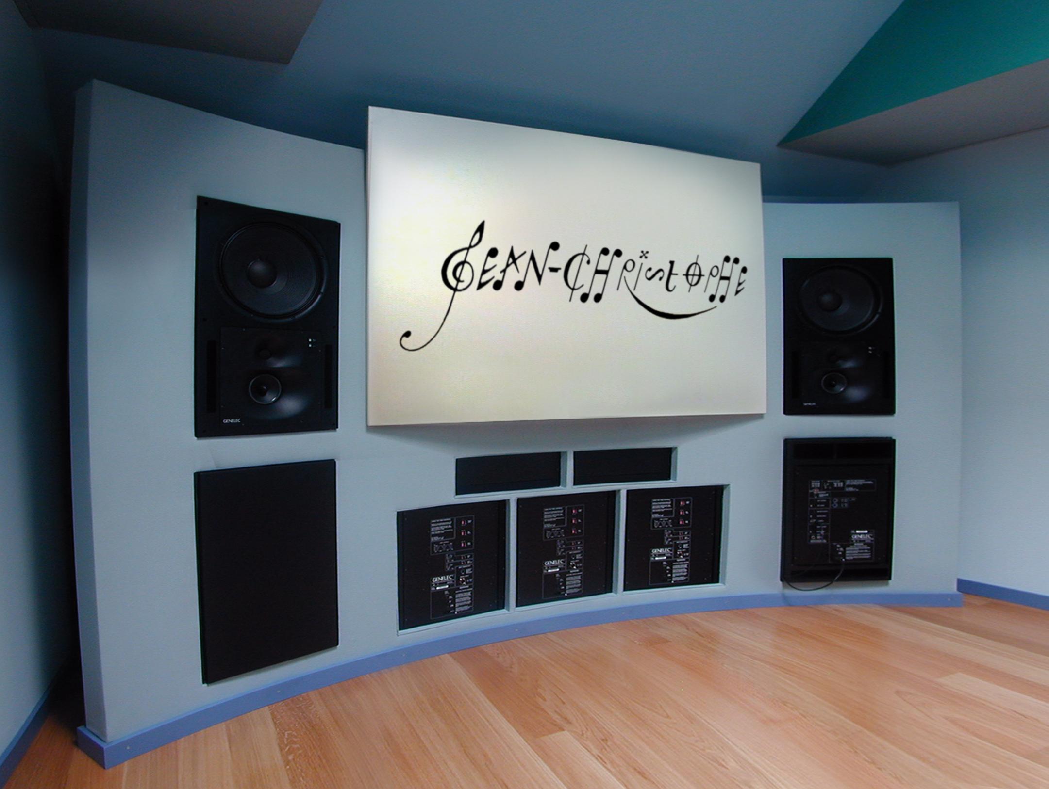 23HB Studio 3 Genelec 5.1