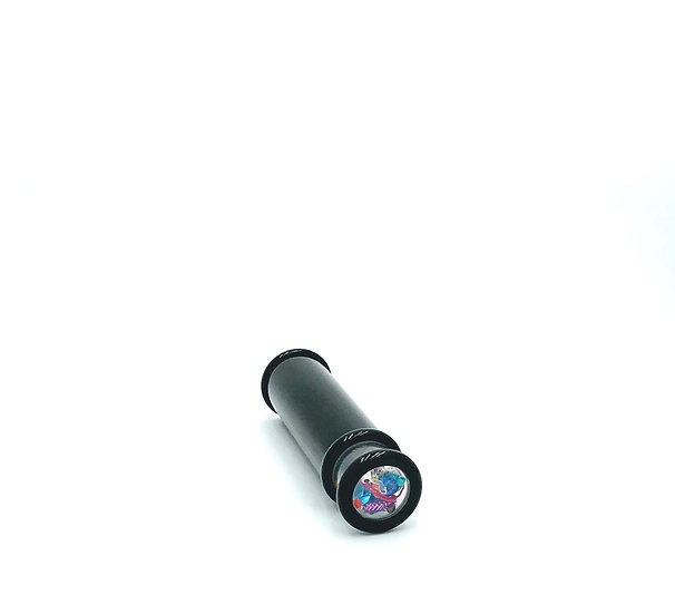Minimalist Small Powder Coated Aluminum Kaleidoscope