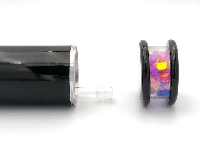 Unique Medium Powder Coated Aluminum Kaleidoscope with Cremation Tube