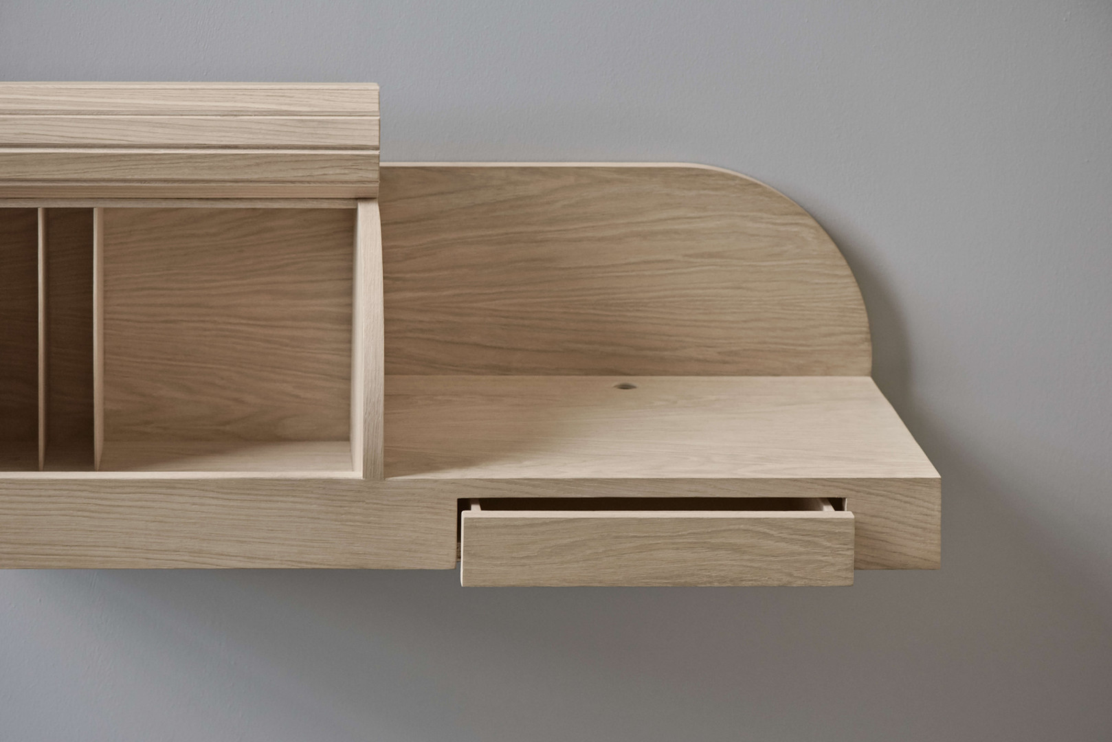 Jalou Bolia console close up open drawer