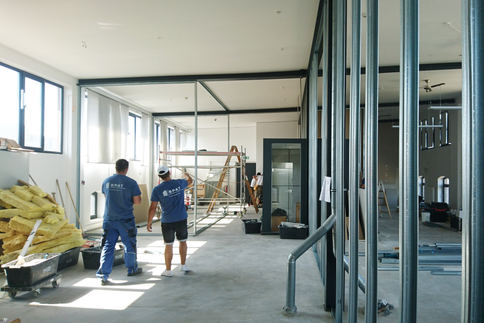 Dry wall construction