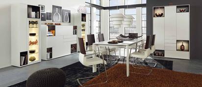 White loft living room range program