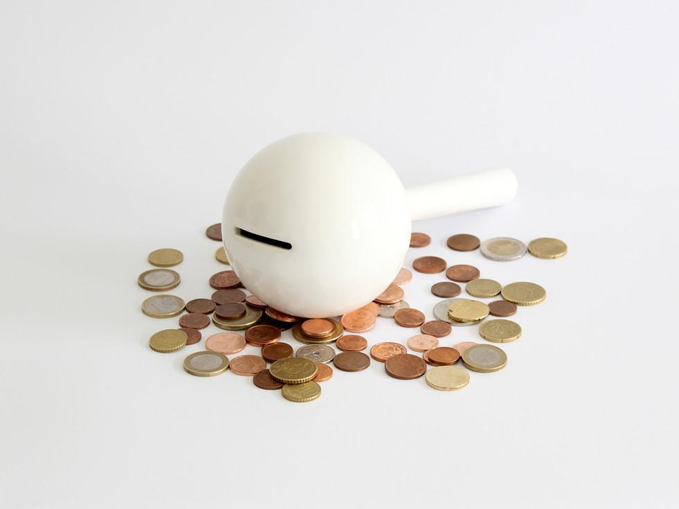 Maraca coin bank