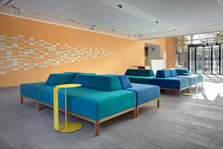 Sofas Seating landscape in Foyer