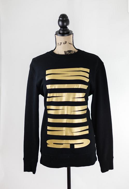 Black and Gold Winning Sweatshirt