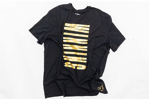 Black and Gold Winning Tee