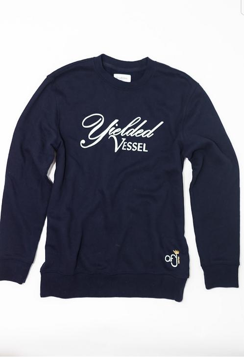Navy Blue Yielded Vessel Sweatshirt