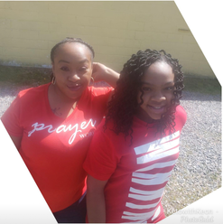 Keon from Dare 2 be Share and her daughter