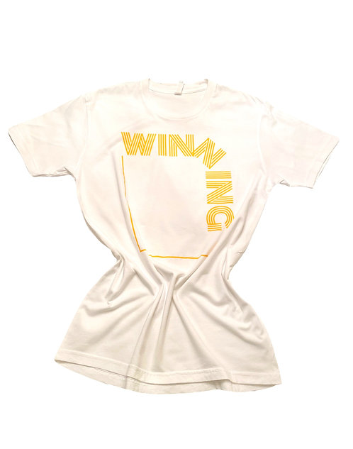 White and Gold Winning Reloaded T-Shirt