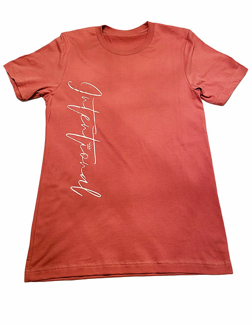 Mauve Intentional T-Shirt
