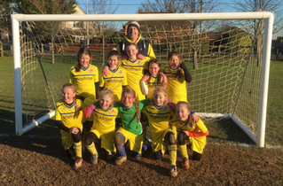 Well done to Burghfield St Mary's Under 11's Girls Football Team